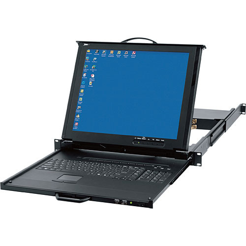 Middle Atlantic RM-KB-LCD17X8KVM Rackmount LCD, Keyboard, KVM Switch and Touchpad