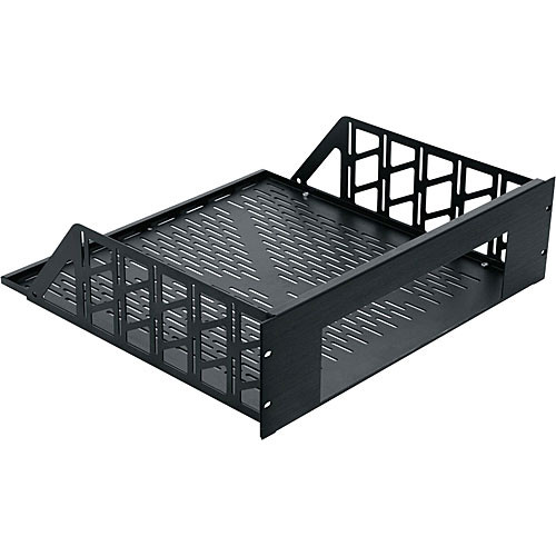 "Middle Atlantic RSH-4A Custom 2U Rackmount Enclosure -  14"" Depth (Black Brushed and Anodized)"