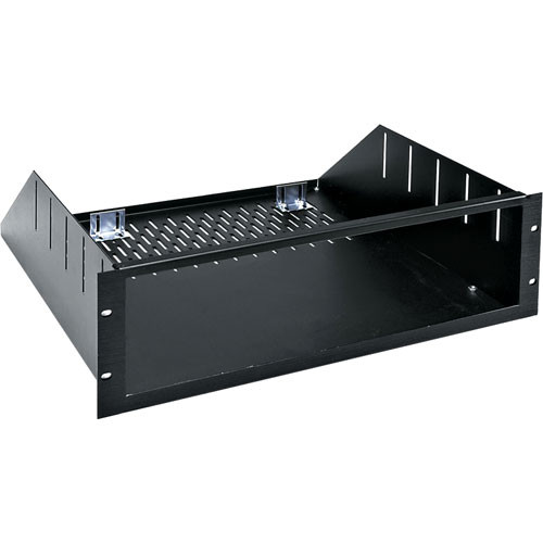 "Middle Atlantic RSH-4A Custom 6U Rackmount Enclosure -  15.5"" Depth (Black Brushed and Anodized)"