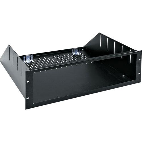 "Middle Atlantic RSH-4A Custom 8U Rackmount Enclosure -  20.5"" Depth (Black Brushed and Anodized)"