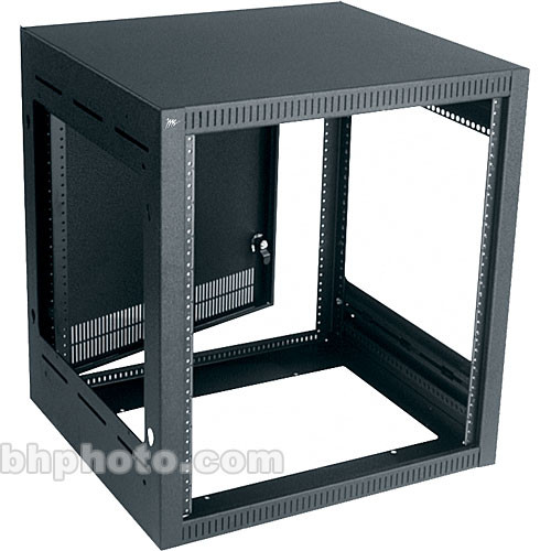 Middle Atlantic Straight Face Monitor Rack (Black)