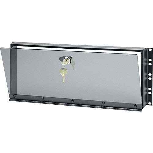 Middle Atlantic SECL-3 Hinged 3U Plexiglas Security Cover