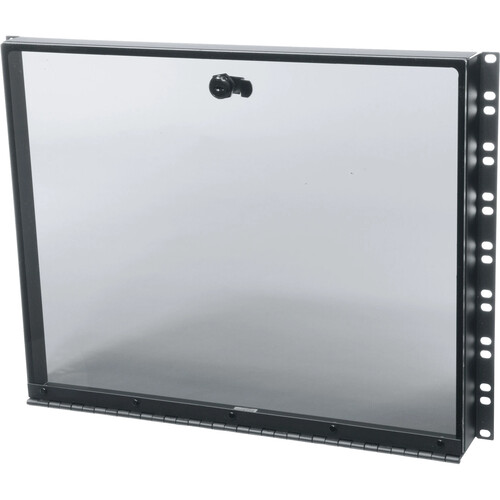 Middle Atlantic SECL-8 8-Space Plexiglass Security Cover with Hinge