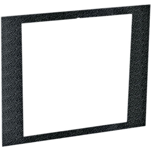 Middle Atlantic 4 RU Face Plate for RSH Series Custom Rackmount (Black Textured)