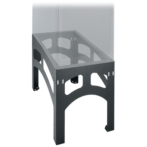 Middle Atlantic SRB-2-DRK-4824 Seismic Certified Riser Base (2-Bay, Black)