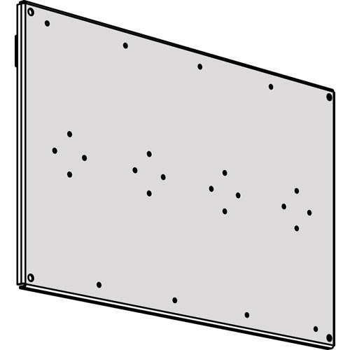 Middle Atlantic SR-SUB Sub-Plate Mounting Kit for 89-D Type Brackets and Electrical Boxes on SR-40-22 Backpan