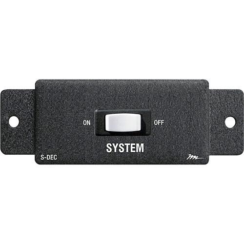 Middle Atlantic S-DEC Remote Control Switch for Decora