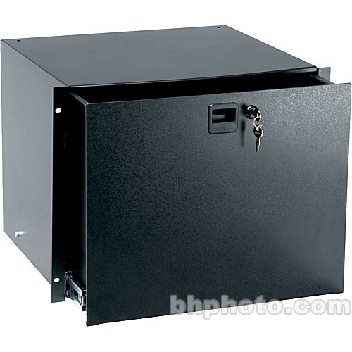 Middle Atlantic TD8 8-Space Rack Drawer w/Lock (Black Text)