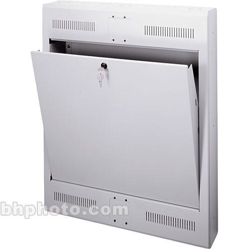 "Middle Atlantic 2U Tilt-Out Wall Rack 20""D Surface Mount (Putty)"