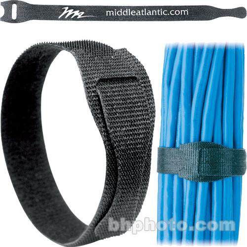 "Middle Atlantic TW12 8"" Cable Management Straps (12-Pack)"
