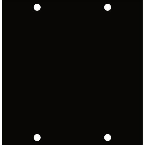 Middle Atlantic UCPB3 Blank UCP Panel - Triple Width