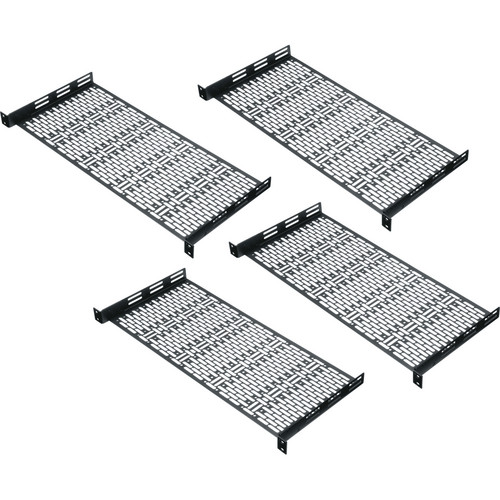 Middle Atlantic UFA Shelf (1 Space, 4 Pack)