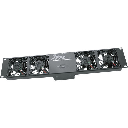 Middle Atlantic Designer Ultra Quiet Fan Panel (8 Fans, 110V)