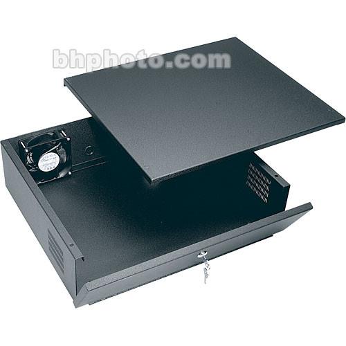 "Middle Atlantic Time Lapse Lockbox with Fan, 5.5"" H"