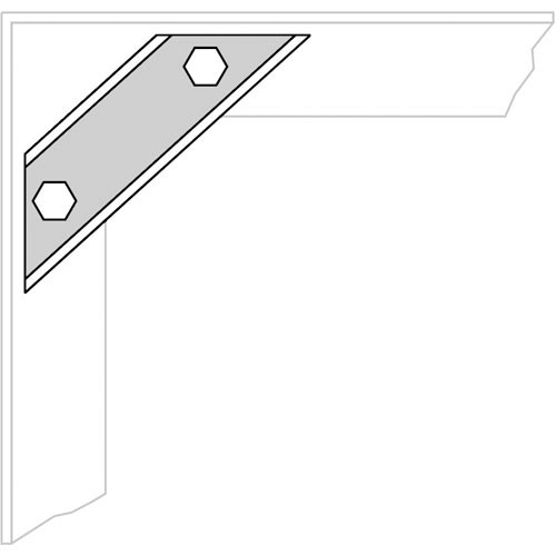 Middle Atlantic WMRK-Z4 Seismic Floor Anchor Brackets