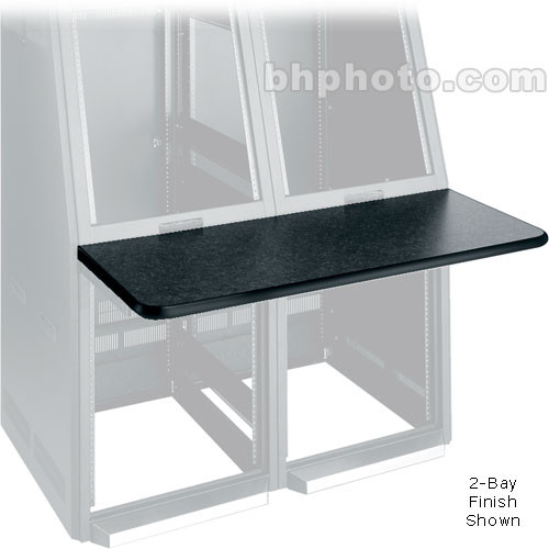 Middle Atlantic Console Work Surface Center (Black)