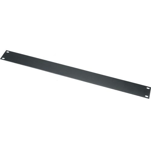 "Middle Atlantic WSB3 3 Space (5.25"") Flanged Steel Blank Panel (Black)"