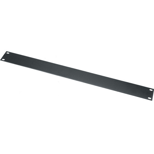 "Middle Atlantic WSB4 4 Space (7"") Flanged Steel Blank Panel (Black)"