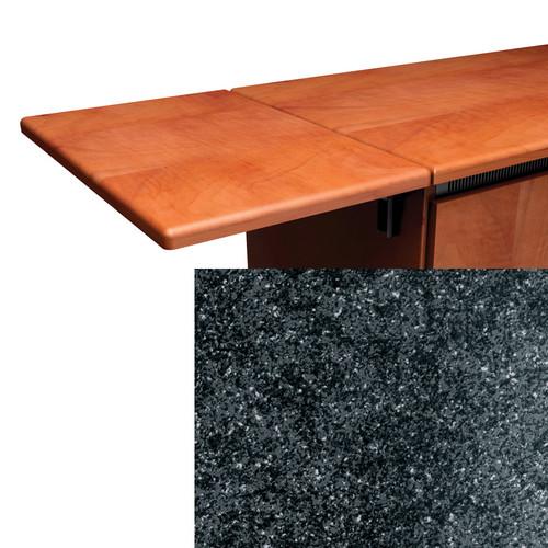 Middle Atlantic Contemporary Style Flip-Up Side Shelf (Darkstone Finish)