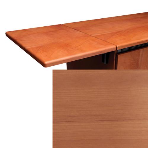 Middle Atlantic Contemporary Style Flip-Up Side Shelf (Honey Maple Finish)