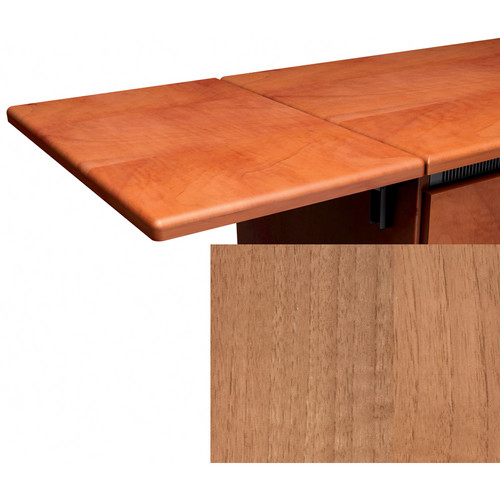Middle Atlantic Contemporary Style Flip-Up Side Shelf (Light Walnut Finish)