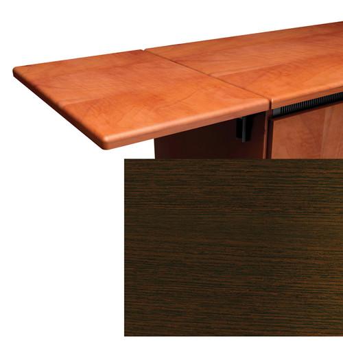 Middle Atlantic Contemporary Style Flip-Up Side Shelf (Wenge Finish)