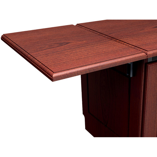 Middle Atlantic Traditional Style Flip-Up Side Shelf (Aged Cherry Finish)