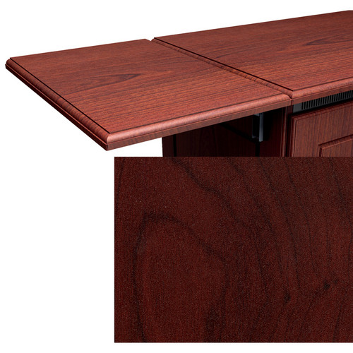 Middle Atlantic Traditional Style Flip-Up Side Shelf (Dark Cherry Finish)