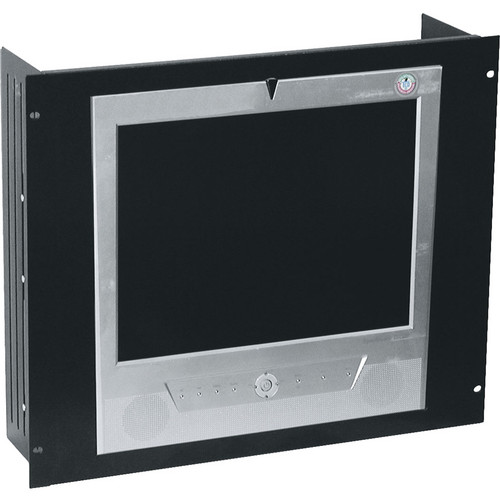 Middle Atlantic RSH Series LCD Rackmount (Black Brushed & Anodized Finish / 7 Space)