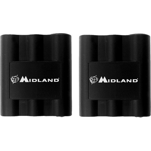 Midland AVP-7 Rechargeable Battery Pack for GXT and LXT Radios (Pair)