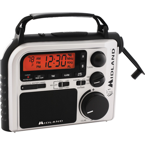 Midland ER102 Emergency Crank Weather Radio