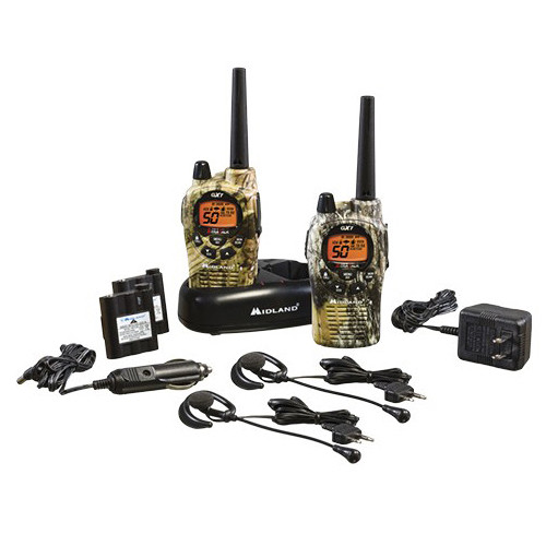 Midland GXT1050VP4 2-Way Compact Communication Radio (Pair)