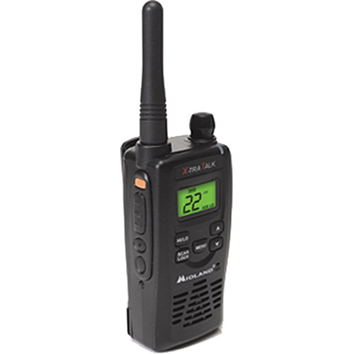 Midland GXT5000 Waterproof 22-Channel FRS-GMRS Two-Way Radio