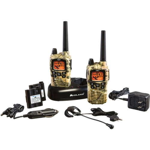 Midland GXT895VP4 42-Channel Mossy Oak Break Up Camo GMRS Radios