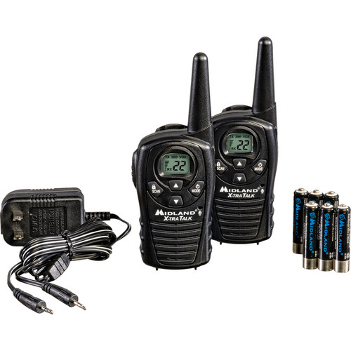 Midland LXT118VP 22-Channel 2-Way Radios
