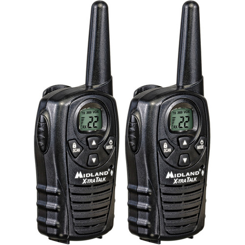 Midland LXT118 22-Channel 2-Way Radios (Pair)