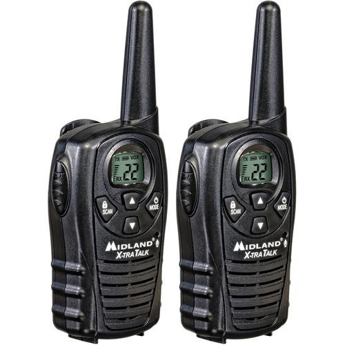 Midland LXT118 22-Channel 2-Way Radios (Pair)
