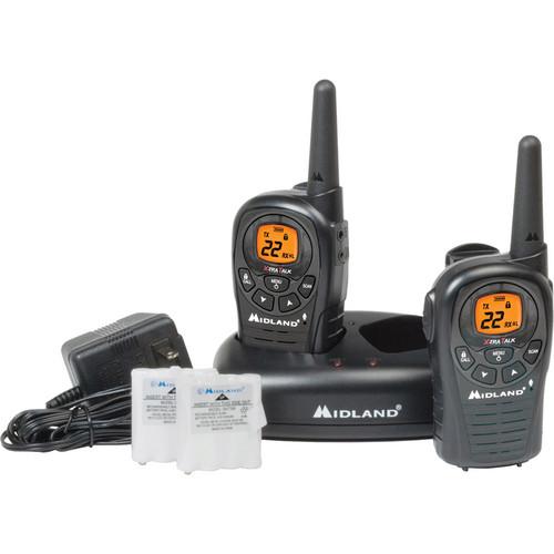 Midland LXT380VP3 2-Way Compact Communication Radio (Pair)