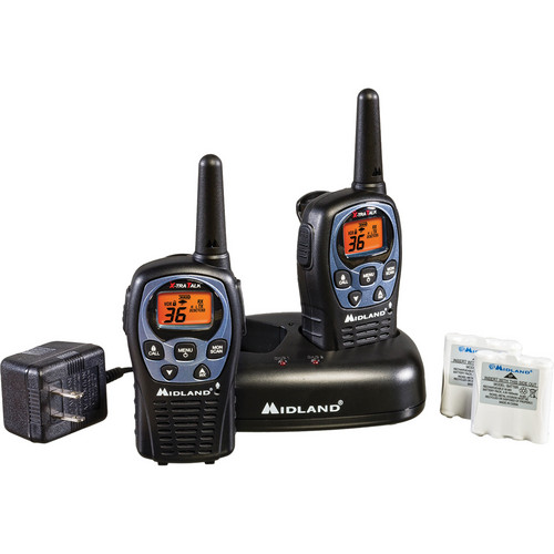 Midland 36-Channel FRS/GMRS 2-Way Radio Set (Pair)