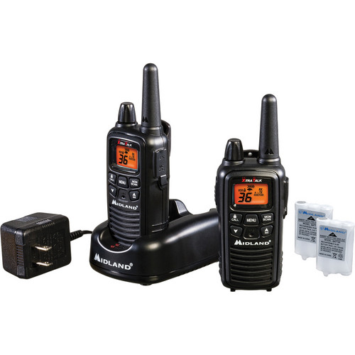 Midland LXT600VP3 36-Channel 2-Way Radios (Black)