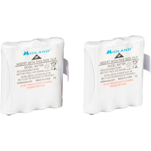 Midland AVP8 Rechargeable NiMH Battery Packs for CXT, LXT and XT Series