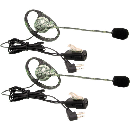 Midland AVPH7 Mossy Oak Break Up Camo Headsets with Boom Mic (Set of 2)