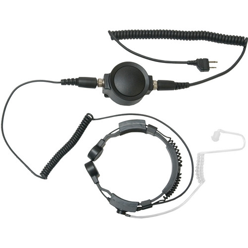 Midland TH4 Action Throat Mic with Tactical PTT