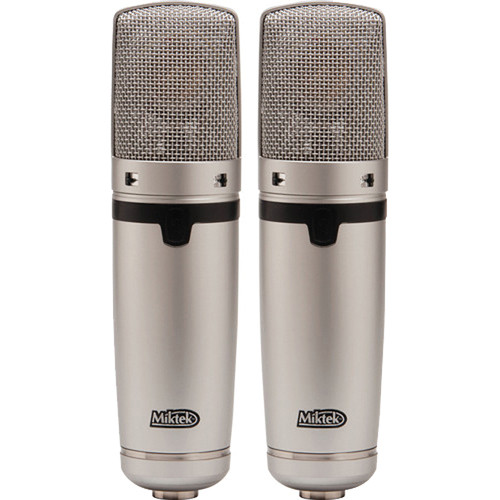 Miktek C7 Large-Diaphragm Multi-Pattern FET Condenser Microphone (Matched Pair)