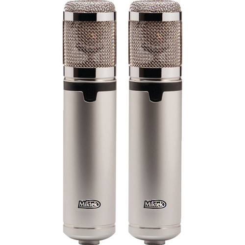 Miktek CV4 Large-Diaphragm Multi-Pattern Tube Condenser Microphone (Matched Pair)