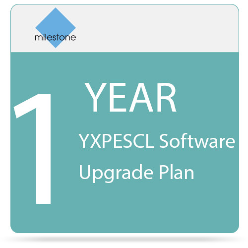 Milestone YXPESCL Software Upgrade Plan (1 Year)
