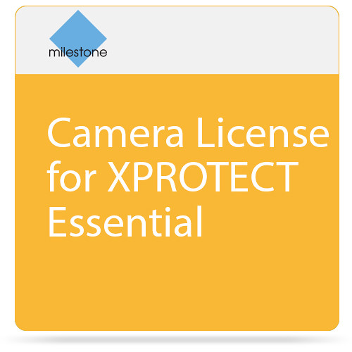 Milestone Camera License for XPROTECT Essential