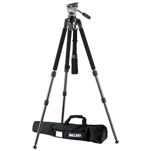 Miller 1643 Miller Solo DV Alloy Tripod with DS-20 Fluid Head