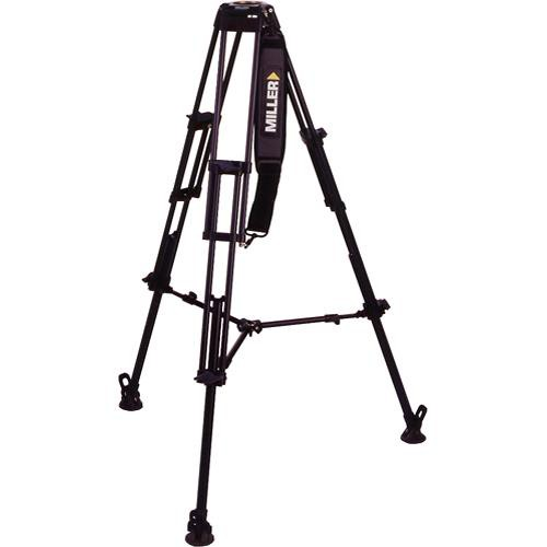 Miller DS Aluminum 2-Stage Tripod Legs (75mm Bowl)