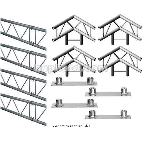 Milos M222 Duo QuickTruss Floor Kit - includes: 4 Truss Sections, Leg Corners, Base Plates - Requires Leg Kit - 7.5 x 7.5'